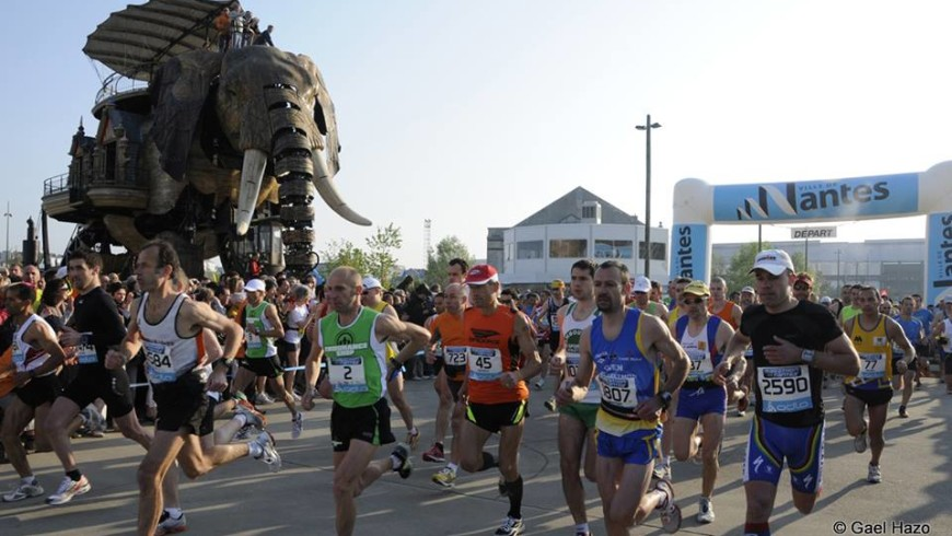 Poiron Dabin au Marathon de Nantes