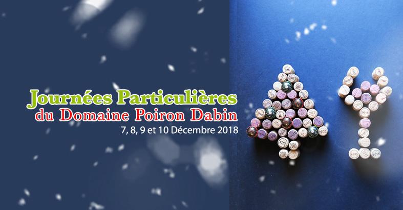 Journées Particulières de Noël – 2018